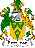 English Coat of Arms for Perryman