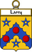 Irish Badge for Lany or Laney