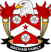 American Coat of Arms for Wadham