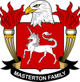 American Coat of Arms for Masterton
