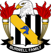 American Coat of Arms for Burwell