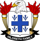 American Coat of Arms for Hildreth