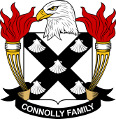 American Coat of Arms for Connolly