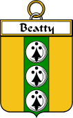 Irish Badge for Beatty or Betagh