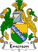 English Coat of Arms for Emerson