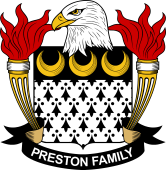 American Coat of Arms for Preston