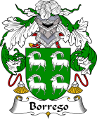 Portuguese Coat of Arms for Borrego