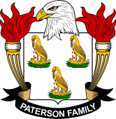 American Coat of Arms for Paterson
