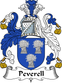 English Coat of Arms for Peverell