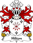 Welsh Coat of Arms for Hilton (of Denbighshire)