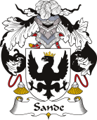 Spanish Coat of Arms for Sande