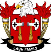American Coat of Arms for Lash