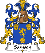 Coat of Arms from France for Samson