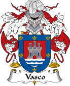 Spanish Coat of Arms for Vasco