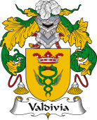 Spanish Coat of Arms for Valdivia