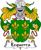 Spanish Coat of Arms for Ezquerra
