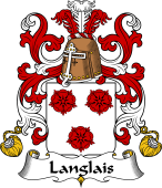 Coat of Arms from France for Langlais