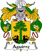 Spanish Coat of Arms for Aguirre