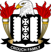 American Coat of Arms for Crouch