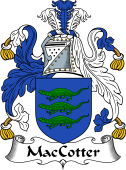 Irish Coat of Arms for MacCotter
