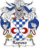 Portuguese Coat of Arms for Raposo