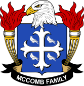 American Coat of Arms for McComb
