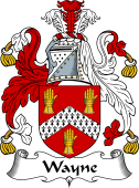 English Coat of Arms for Wayne
