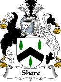 English Coat of Arms for Shore
