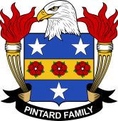 American Coat of Arms for Pintard