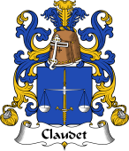 Coat of Arms from France for Claudet