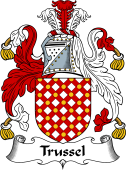 English Coat of Arms for Trussel