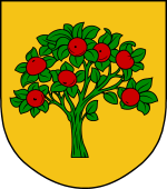 Dutch Coat of Arms shield for Appelman