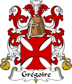 Coat of Arms from France for Grégoire