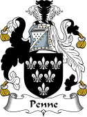 Irish Coat of Arms for Penne