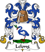 Coat of Arms from France for Lelong (Long le)
