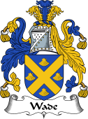 English Coat of Arms for Wade