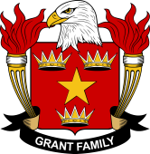 American Coat of Arms for Grant
