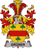 Danish Coat of Arms for Grüner