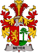 Danish Coat of Arms for Meyer