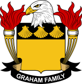 American Coat of Arms for Graham