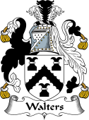 English Coat of Arms for Walters