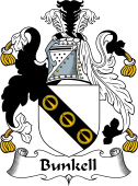 Scottish Coat of Arms for Bunkell or Bunell