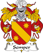 Spanish Coat of Arms for Semper