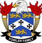 American Coat of Arms for Fowler