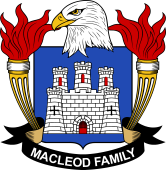 American Coat of Arms for Macleod
