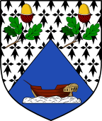 Coat of Arms from France for Pitcher
