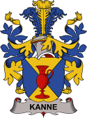 Danish Coat of Arms for Kanne