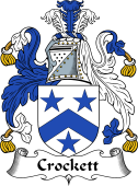 Scottish Coat of Arms for Crockett
