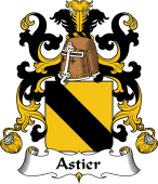 Coat of Arms from France for Astier