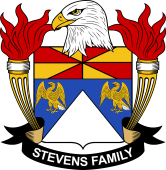 American Coat of Arms for Stevens